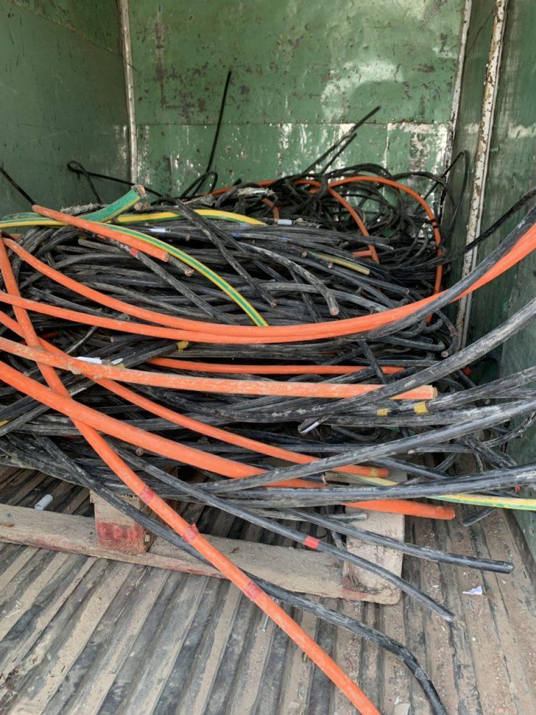 Thu mua dây cáp điện đồng phế liệu
