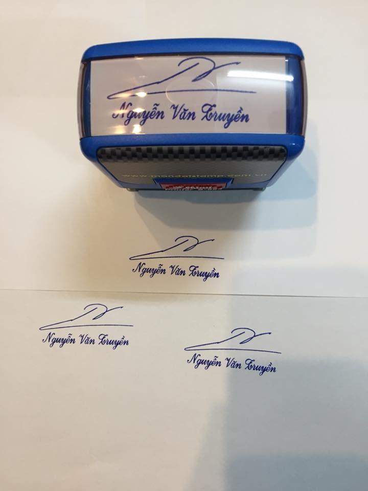 Khắc dấu chữ ký giá rẻ, nhanh chóng, giao hàng tận nơi